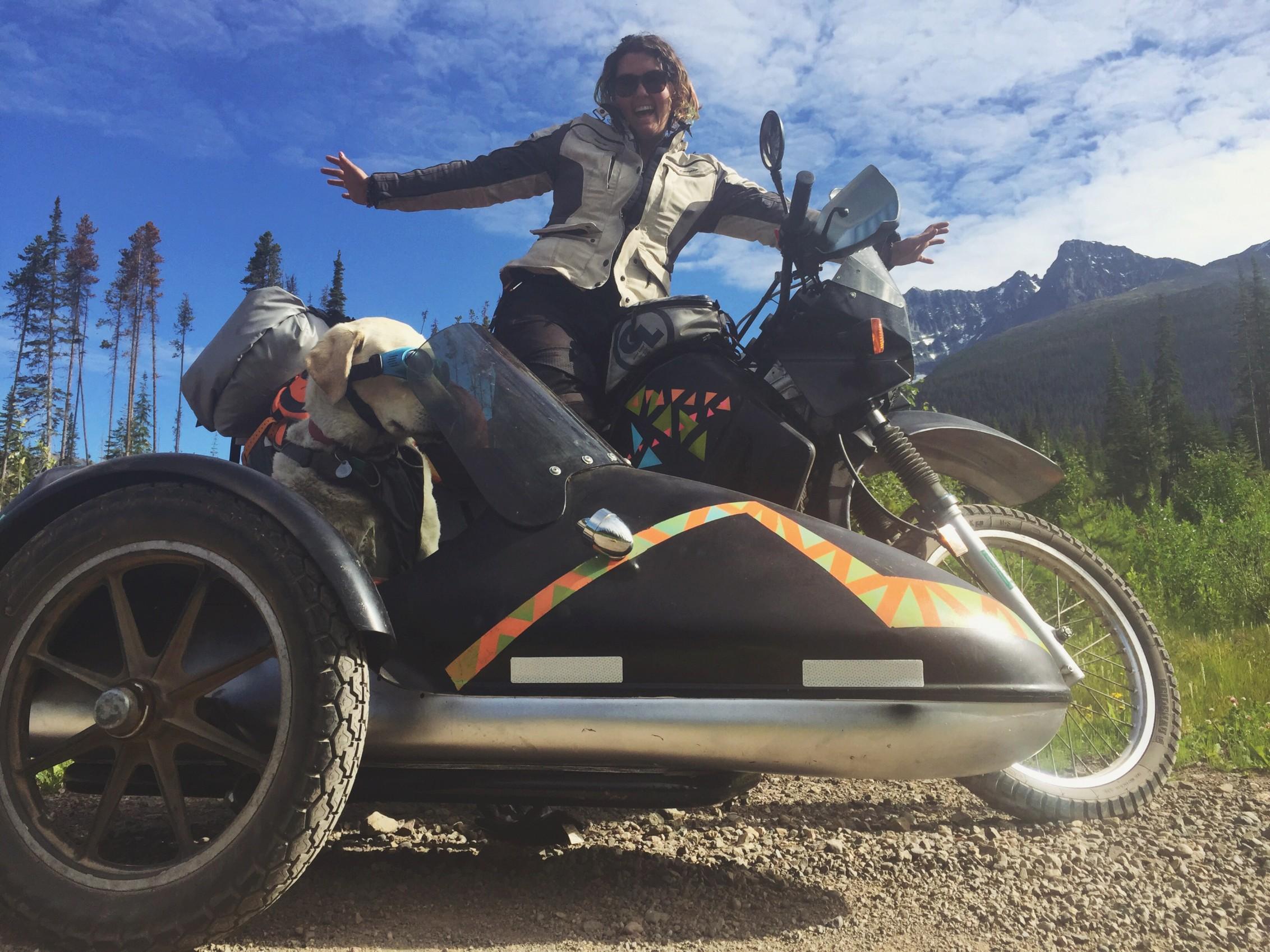 Operation Moto Dog - Headed to Alaska