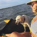 Mallory Paige and Baylor the Dog Paddle in Florida | Operation Moto Dog Day 197