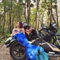 Mallory Danger Paige is a Motorcycle Mermaid