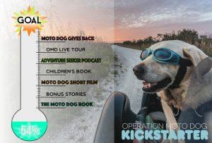 Operation Moto Dog Kickstarter - Halfway There!