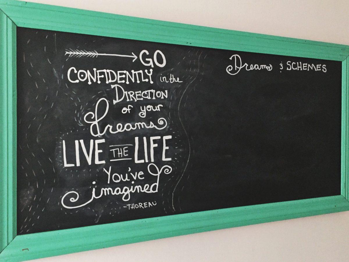 Mallory Paige Chalkboard Art