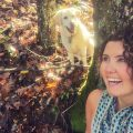 Mallory Paige and Baylor the Dog Choose Happy